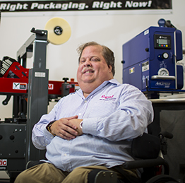 Mike Anderson at Rapid Packaging