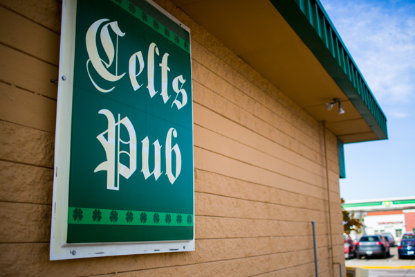 Celts Pub Exterior Sign