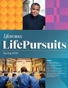 Lifeworks LifePursuits Spring 2019 Cover