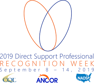 National Direct Support Professionals Week Logo Image