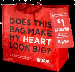 Hy-Vee Reusable Grocery Bag
