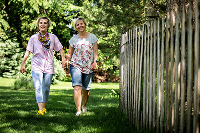 CSCS - FMS Family - Mom and Daughter Walking