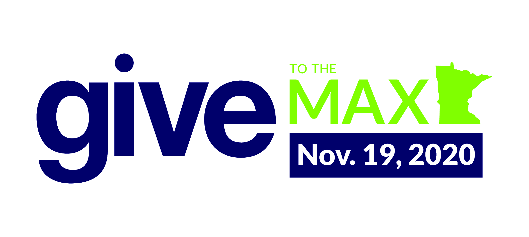 Give to the Max 2020 Logo